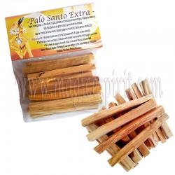 Palo Santo Peruano artesano paquete 80 gr