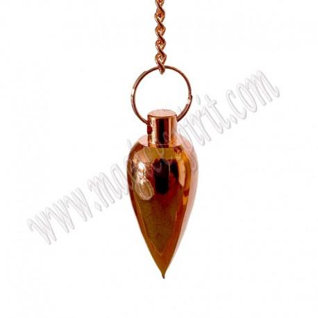 Péndulo Metalico Cónico cobre