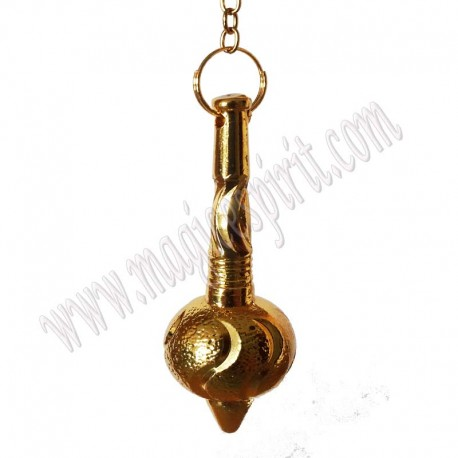 Pendulo Bola dorado