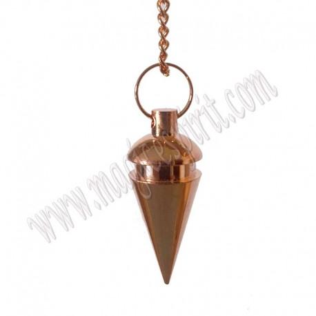 Péndulo Metalico Cónico 1 Color cobre