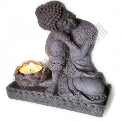 Figura Buda porta velas