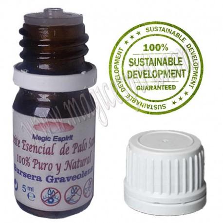 Aceite puro Palo Santo