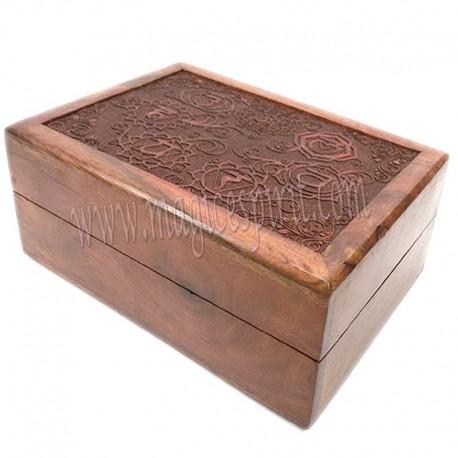 Caja con grabado laser 7 Chakras