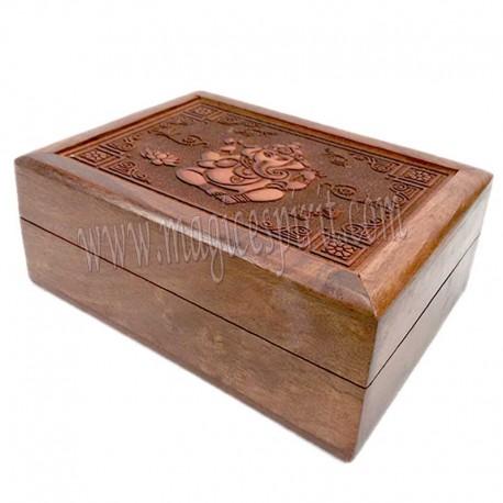 Caja con grabado laser Ganesh